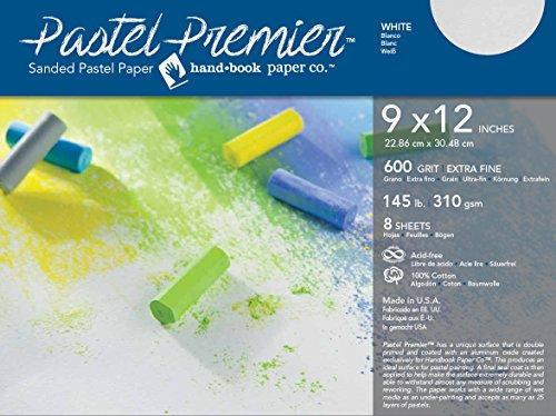 Handbook Paper Pastel Premier Paper X-Fine 9X12 8 Sheet Pk by Handbook Paper