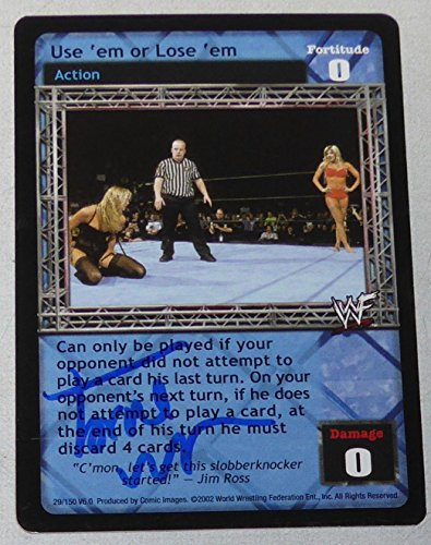 Torrie Wilson Signed 2002 Comic Images Raw Deal WWF WWE Playing Trading Card Use - Autographed Wrestling (Wwf Trading Card)