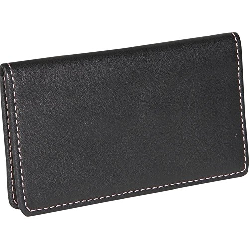 Royce Leather Business Card Case - Leather - Black - Black