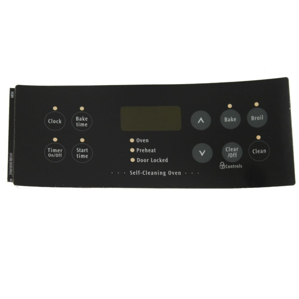 Electrolux 316419103 Overlay
