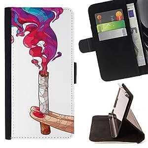 Jordan Colourful Shop - FOR Sony Xperia Z1 Compact D5503 - Order in complicated - Leather Case Absorci¨®n cubierta de la caja de alto impacto