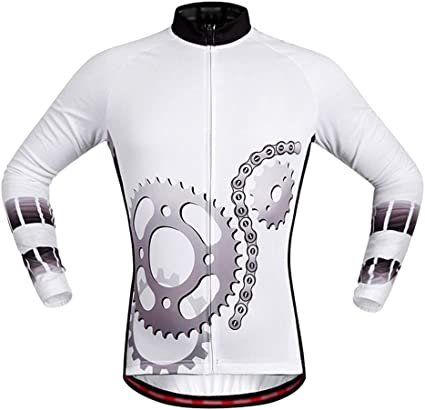 PQXOER-SP Ciclismo Maillot Unisex Cycling Jersey Manga Larga ...