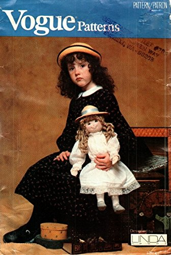 "Vogue 637 or 7290 Vintage Rag Doll Pattern 20"" with for sale  Delivered anywhere in USA"
