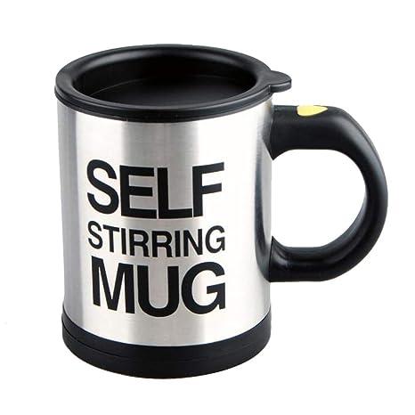 Amazon.com: Taza de café Self Stiring tazas de acero ...