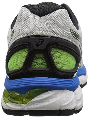save off 8878e 2efdb ASICS Men's Gel-Nimbus 17 (2E) Running Shoe,Lightning/Black ...