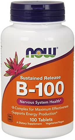 Vitamins & Supplements: NOW Supplements Vitamin B-100
