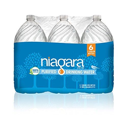 A Full Truck load of Niagara 1G, 6pk Drinking Water. 816 Cases per shipment. by Niagara