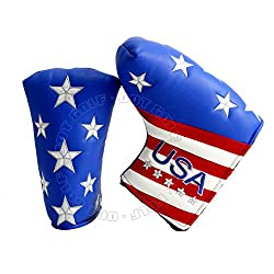 Stars & Stripes Headcover For Blade & Midsize Mallet Putter