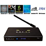 KAT-TV Elite Android HD TV Streaming box s905 2gb/8gb Jarvis with custom wizard 6 Premium subscription AddOns