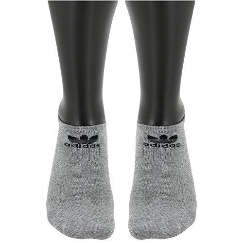 Adidas Youth Originals Trefoil 6-Pack No Show Socks