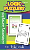 Logic Puzzlers Flash Cards for Ages 8-9