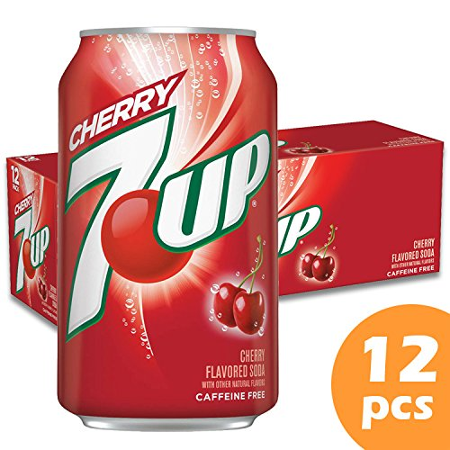 Image of 7 Up Cherry Soda in 12 oz cans (12 Cans)