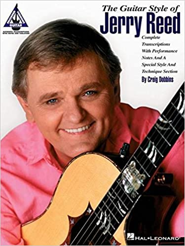 Guitar guitar tabs book : The Guitar Style Of Jerry Reed Guitar Recorded Versions Tab Book ...