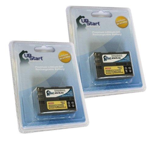 UpStart Battery 2x Pack - Nikon EN-EL3A Battery - Replace...