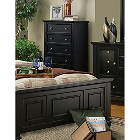 Coaster Home Furnishings 201325 Country Chest Black