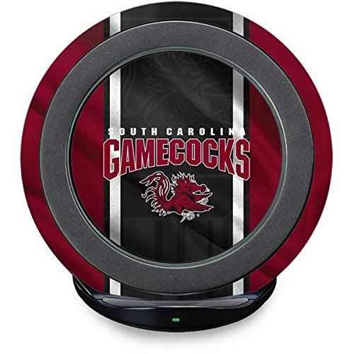 South Carolina Gamecocks Pedestal (University of South Carolina Fast Charge Wireless Charging Stand Skin - South Carolina Gamecocks Jersey | Schools X Skinit Skin)