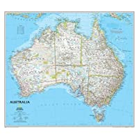 Australia Classic, Tubed: Wall Maps Continents