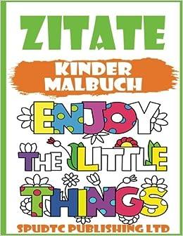 Amazoncom Zitate Kinder Malbuch German Edition