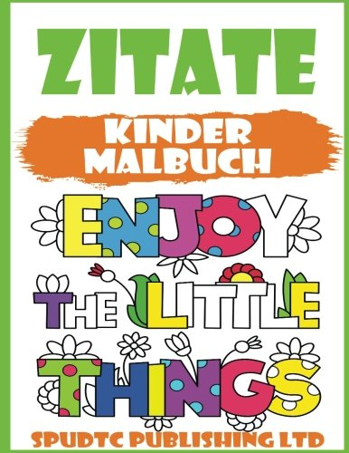 Buy Zitate Kinder Malbuch Book Online At Low Prices In India