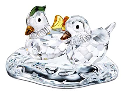 edcb38988 Image Unavailable. Image not available for. Color: Swarovski Crystal  Figurine Mandarin Ducks 858736