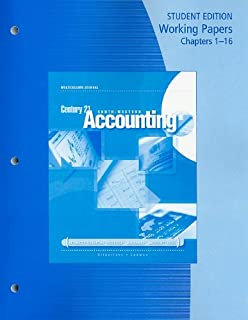Amazon century 21 accounting general journal mindtap course working papers chapters 1 16 for gilbertsonlehmans century 21 accounting multicolumn fandeluxe Gallery