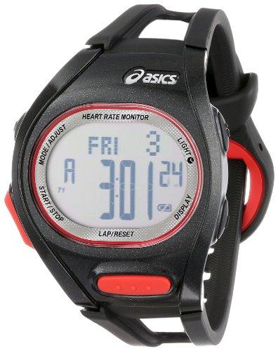 Asics Unisex CQAH0101 HRM Trainer Black Anaerobic Threshold Watch