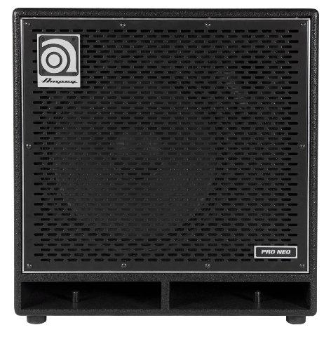 Ampeg Pro Neo PN-115HLF Bass Amp Cabinet, 1x15-inch speaker cabinet , neodymium loaded, 575W ()