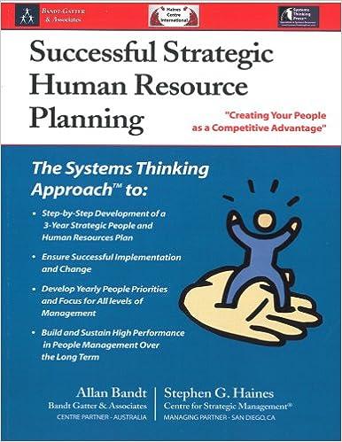 Successful Strategic Human Resource Planning: Stephen G