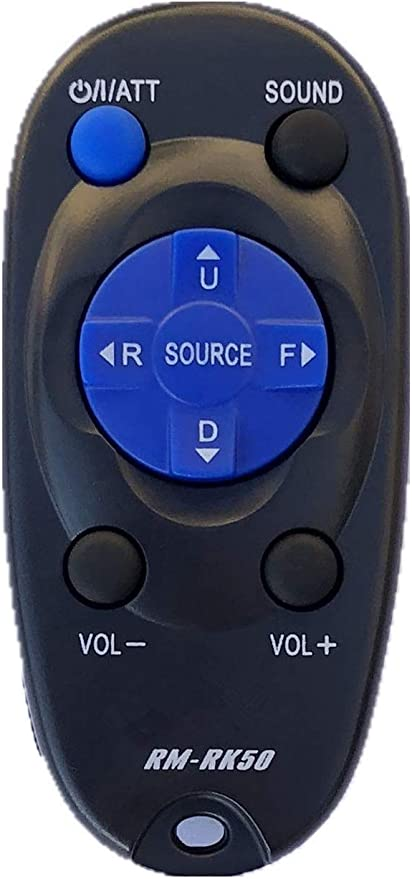New JVC Replacement Wireless Remote Control  For JVC Car Stereo RM-RK50 RM-RK52