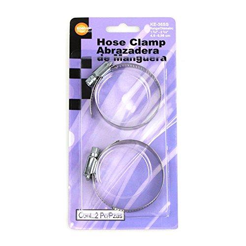 Size SAE 36 Koehler Enterprises KE36SS Hose Clamp Blister Pack 2 Piece