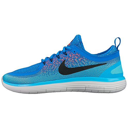 Nike Nike Free RN Distance 2–Soar/Black Hot Punch-Polarized, multicolore, 6