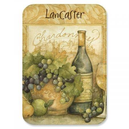 (Personalized Wine Bottle Glass Cutting Board - 8