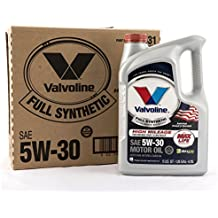 Valvoline Full Synthetic High Mileage with MaxLife Technology 5W-30 Motor Oil - 5qt (Case of 3) (813531-3PK)