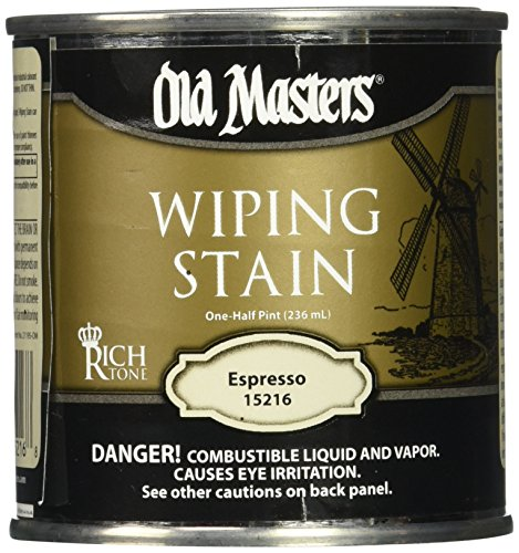 (Old Masters Series 15216 .5Pt Espresso Wiping Stain 24)