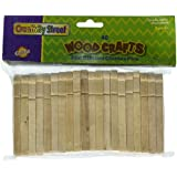 Chenille Kraft Natural Flat-Slotted Clothespins (CKC368501)