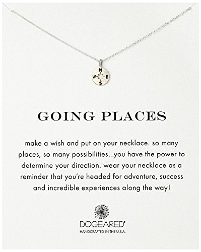 Dogeared Going Places Compass Necklace product image