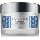 Night Face Cream For Women - Best Natural Face Moisturizer for Dry Skin with Vitamin C, Cocoa Butter & Grapeseed Oil to…
