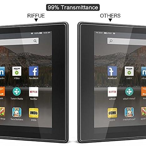 RIFFUE Huawei Matebook X Pro Protector de Pantalla, Cristal Vidrio Templado Glass Premium [9H Dureza] [3D Touch] [Alta Definicion] Screen Protector ...