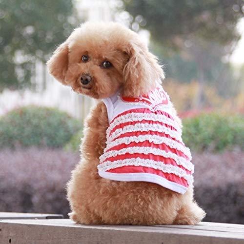 HHF Pet Supplies Cute Heart Pattern Pet Dress, Random color Delivery, Size  XL, Back Length  37cm, Chest  54cm