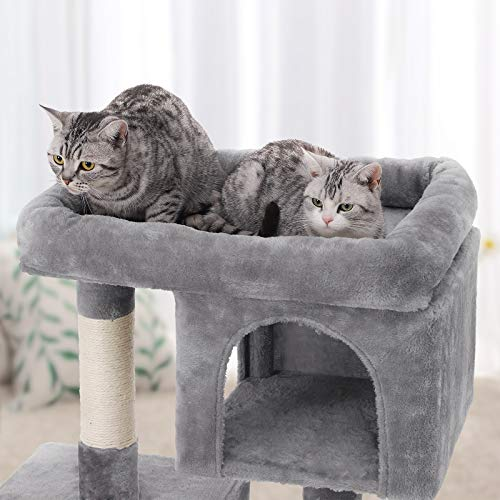 Feandrea Cat Tree With Sisal Covered Scratching Posts And