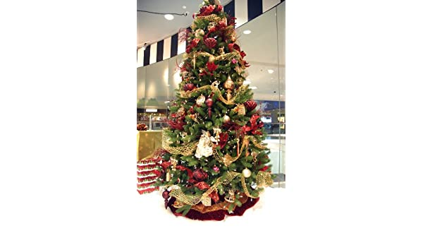amazoncom 9 christmas tree decorating kits victorian style home kitchen - Christmas Tree Decorating Ensemble Kits