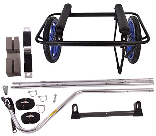 Seattle Sports Go!Cart ACT Cart & Trailer Conversion Kit for SUP, Kayaks and Canoes