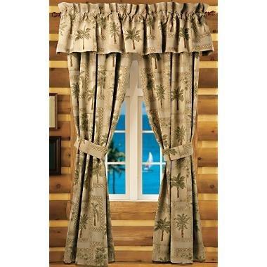 Palm Tree Curtains