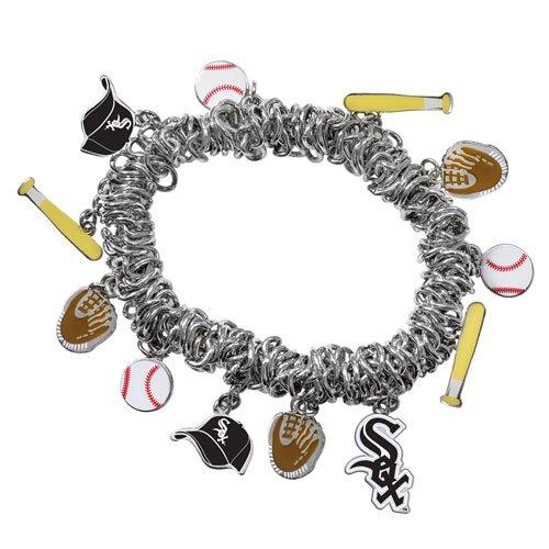 - Game Time Offical MLB CHICAGO WHITE SOX Stretch Bracelet