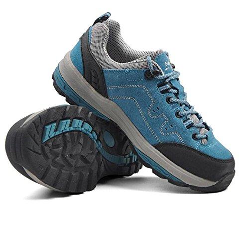 sportsEscalada Ocio Al Transpirables De Senderismo Zapatos X Antideslizante blue Aire Z De Zapatos De amp;HX Libre Ocio 5UqABBx