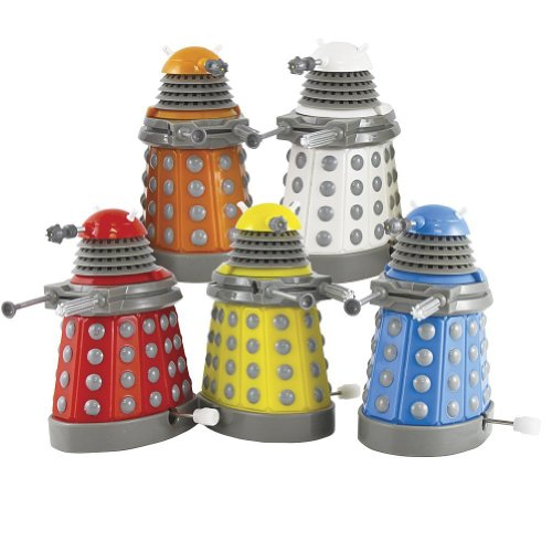 Bluw Doctor Who Wind Up Daleks Paradigm Collectible Figur...