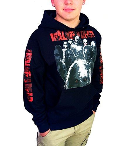 THE WALKING DEAD Zombies Hoodie (X LARGE) Everything Adult Hoody Sweatshirt
