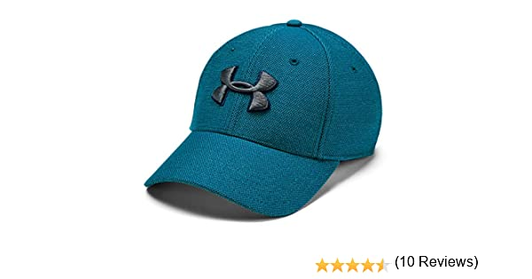 Under Armour Blitzing 3.0 Gorra, Hombre, Verde (Teal Vibe/Pitch ...