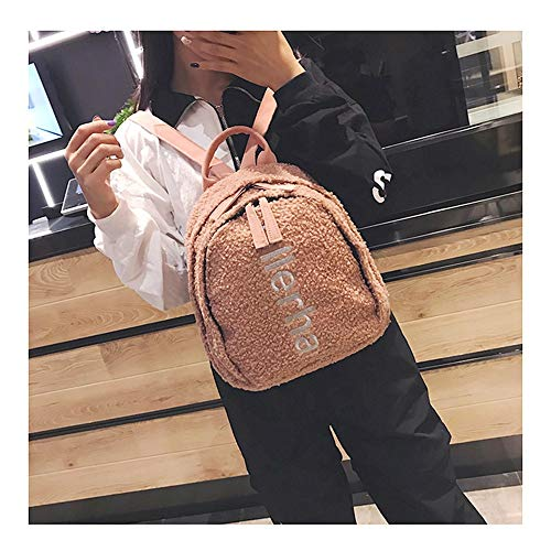 Zaino donna per scuola elegante viaggio la Women Borsa Back nero Pack CarrieyukiCarrie casual Rosa Borsa Colore di p4nRf5x