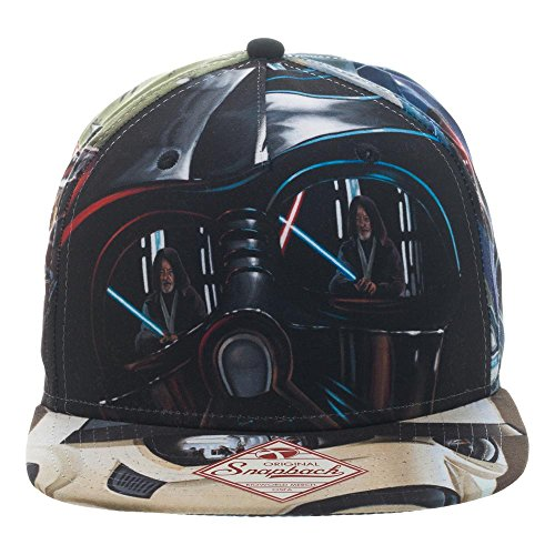 (Star Wars Adult Duel Looking Glass Sublimated Snapback Hat)